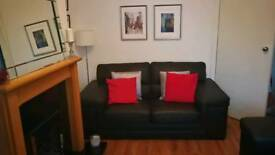 Italian Leather 2 & 3 seater Sofa £500 for quick sale