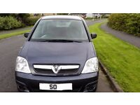 2010 60 Reg VAUXHALL MERIVA LIFE E-TRONIC BLUE LOW MILES WITH LONG MOT