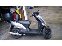 Kymco Agility 50 with fully rebuild 90cc engine (registered as 50cc)