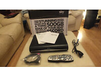 SKY+ Plus HD 3D On Demand Box * Model DRX890-R 500GB