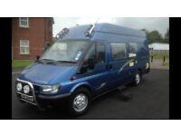 Ford Tranist Camper Van (2006)