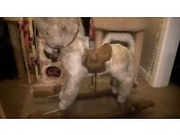 Rolly Toys Rocking Horse With Retractable Wheels
