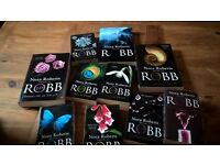 Nora Roberts writing as J D Robb 11 books + Other crime/Thrillers
