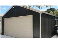 20x17ft steel shed