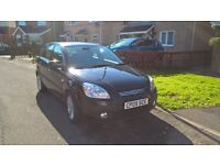 Kia Rio Black 2009 5 door hatchback special edition