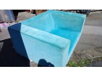 Electric Blue Love Chair (2 SEATER) Sofa