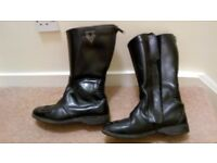 Frank Thomas motorcycle boots size 6