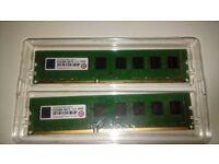 16GB DDR3 Transcend 1333mhz ram (2x8GB)
