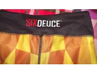 SIX DEUCE LEGGINGS SIZE SMALL ,USED ,VERY GOOD CONDITION