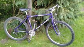 Saracen Hardtrax 21 speed,17.5 in frame,runs very well,tidy bike