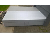 Ex-display Myers 6FT Super King Size mix colours Divan Bed Base.