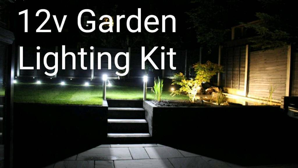 12v Plug And Play Garden Lighting Kit