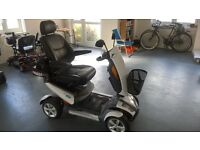 For Sale - TGA Vita Mobility Outdoor Scooter in white.