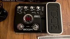 Still For Sale 30/11 - Guitar multi effects pedal -Zoom G2.1U