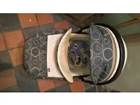Chicco 'Mothercare' Carry Cot and Car Seat 0-13kg with Solar Shade worth £20 BNIB