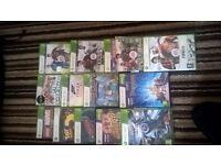 XBOX 360 MASSIVE BUNDLE 51 GAMES AND KINECT
