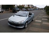 Silver Peugeot 206 CC - For Sale - £920 - O.N.O.