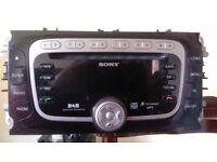 Ford Sony DAB 6 CD radio