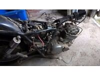 Suzuki GN 250 for spares only