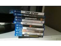 Ps4 and various games