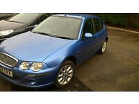 rover 25 1.4 , mot march 2017 blue met alloys good driver