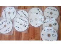 Breakbeat MP3's on DVD