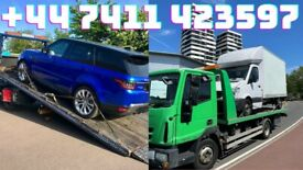 24/7 CAR VAN TRANSIT VAN LWB LUTON VAN JEEP SCRAP CAR BREAKDOWN RECOVERY M1 M25 M11 A406