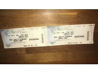 2x John legend tickets hydro