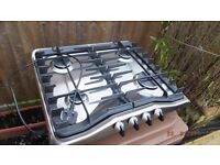 Zanussi gas hob - stainless steel