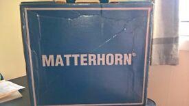 MATTERHORN boots. Mens black UK size 10 mattherhorn boots. Boxed.