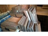 100 used packing boxes for house move