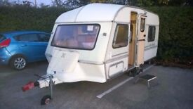 DON'T LOSE IT ! 1993 ABI Jubilee Pioneer 4 berth caravan with FULL AWNING ! Quick sale !!