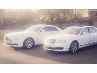 Bentley Rolls Royce Hire Weddings Proms Partys Airport Transfers