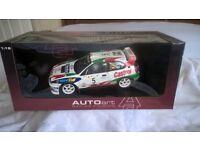 1 : 18 scale Auto Art Racing Division Toyota Corolla WRC model car