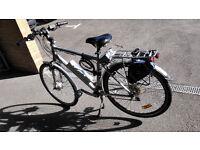 Electric bicycle, Powabyke, 700c, cemplete gear