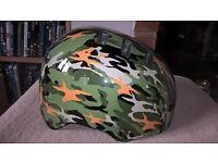 Boys Bell Camouflage Bike Hat