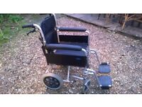 Enigma Lightweight Attendant-Propelled Wheelchair (I have other wheelchairs, see below)