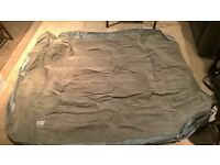 Double inflatable mattress with electric pump! (needs repairing)
