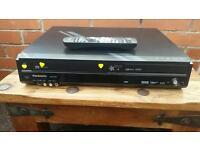 Panasonic, DMR-EZ49V, dvd-vhs recorder Scott, hdmi freeview, USB port