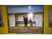 Signed Micheal Caine Framed Quad Poster Mint framed Quad original poster 30 x 40