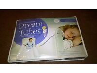 Dusky Moon Dream Tube Bed Guard and Spare Sheet - Cot Bed Size