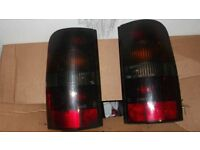 Ford escort van rear lights 1998