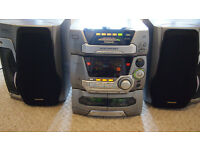 Panasonic hi fi system