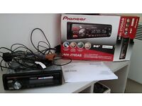 Pioneer MVH-270DAB car stereo. USB/ipod/iphone