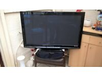 Colour 43inch Phillips Flat Screen TV, Complete with Stand and Instructions,