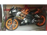 Honda cbr rr 125 2005
