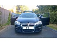 "2008 58 Black Volkswagen Golf 2.0 TDI 140 Sportline Manual Estate 5dr Car 17"" Alloys GTI GTE PX Swap"