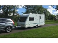 2004 SWIFT 470 SE 3 BERTH TOURING CARAVAN