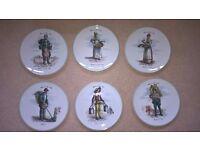 Sologne Porcelain dessert plates