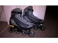NIKE N-Dorfin 5 INLINE SKATES - SIZE 8 not rollerblades